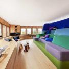 Дом с красивым видом (Haussicht) в Германии от Alfredo Haberli Design Development.