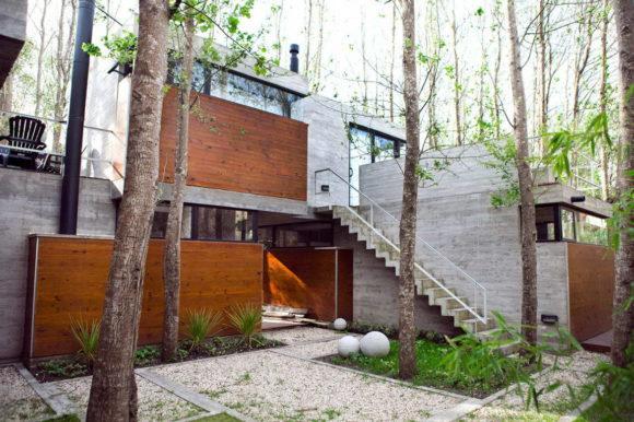 Загородный дом на семь квартир в Аргентине