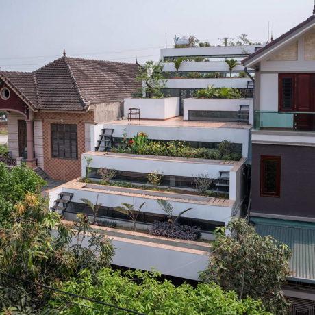 Дом с террасами (Terraces Home) во Вьетнаме от H&P Architects.
