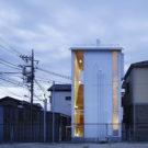 Белый домик (White Hut) в Японии от Takahashi Maki and Associates.