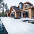 Кристально чистый дом (Crystal Clear) в США от Aspen Leaf Interiors.