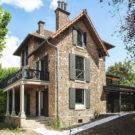 Дом О-де-Сен (Maison Hauts-de-Seine) во Франции от Atelier Lame Architecture.