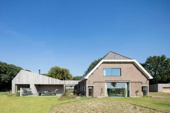 Современный сельский дом в Голландии