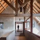 Фермерский дом в Утрехте (Farmhouse Utrecht) в Голландии от Zecc Architecten.