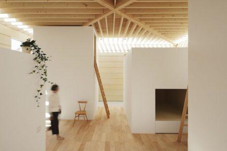 Интерьер городского дома в Японии