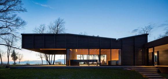 Деревянный дом в США