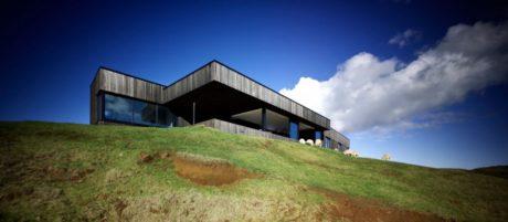Дом у океана в Новой Зеландии