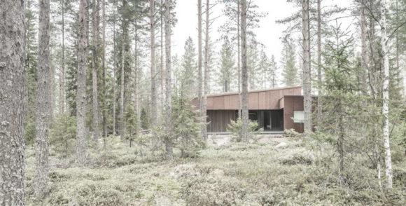Лесной дом в Финляндии