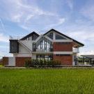 Дом Ласточка (Swallow House) на Тайване от UrbanCarve.