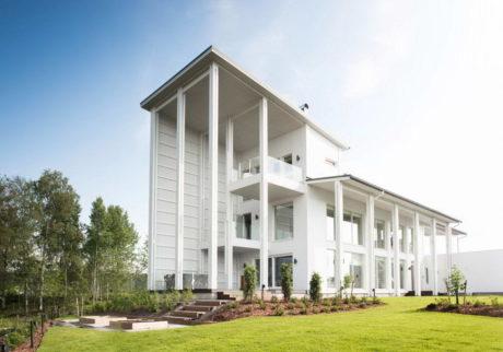 Белый дом в Финляндии