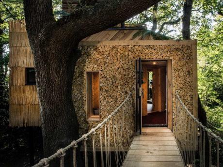 Дом на дереве в Англии