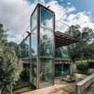 Скрытый Павильон (Hidden Pavilion) в Испании от Penelas Architects.