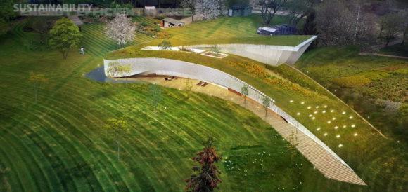 Проект дома-холма