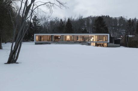 Минималистский дом в Канаде
