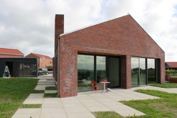 Кирпичный дом в Дании