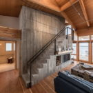 Дом на берегу (Beach House) в Канаде от Cibinel Architecture.