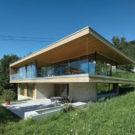Дом Д (Haus D) в Австрии от Dietrich | Untertrifaller Architekten.
