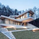 Комплекс для отдыха в Хончхоне (Retreat in Hongcheon) в Южной Корее от IDMM Architects.