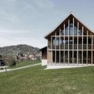 Летний дом (Summer House) в Австрии от Marte.Marte Architects.