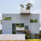 Дом Бинь (Binh House) во Вьетнаме от VTN Architects.