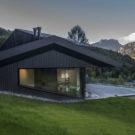 Домик в Шамони (Cabin in Chamonix) во Франции от Pierre Marchand Architects.
