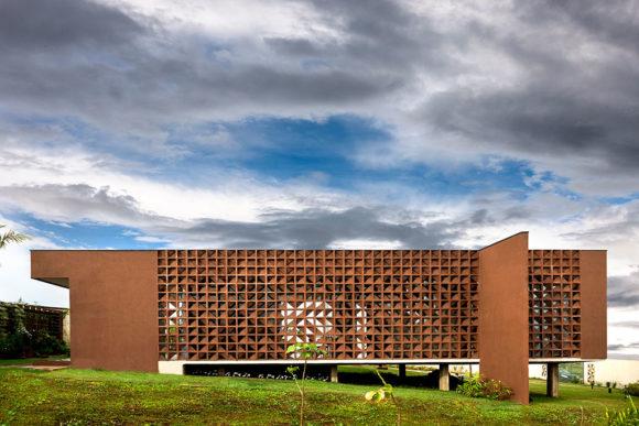 Минималистский дом в Бразилии