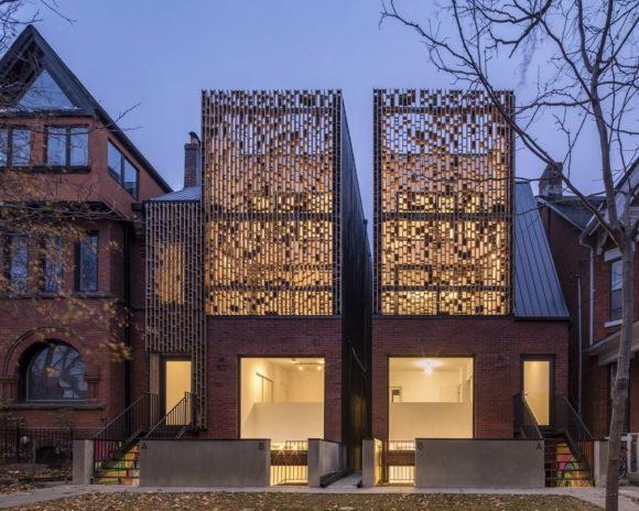 Двойной дуплекс (Double Duplex) в Канаде от Batay-Csorba Architects.