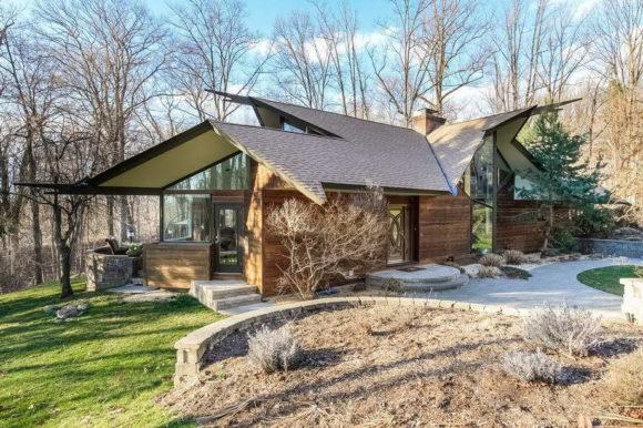 Лесной дом в США