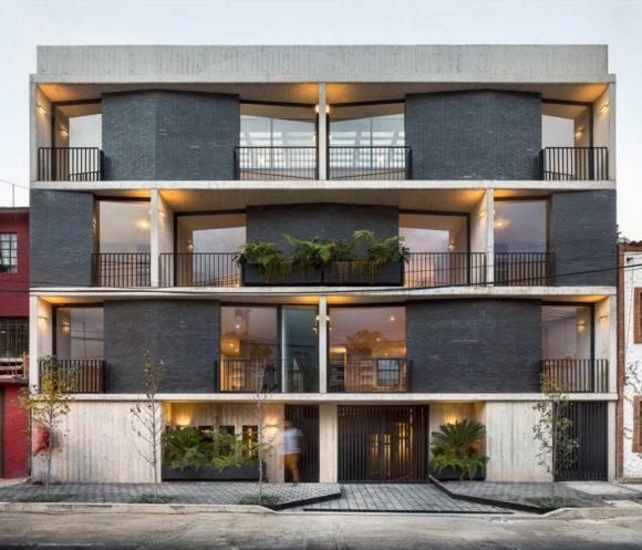 Многоквартирный дом в Мексике