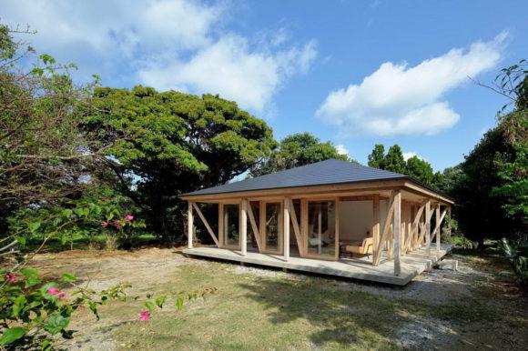 Деревянная дача в Японии