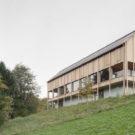 Дом в лесу (Haus am Sturcher Wald) в Австрии от Bernardo Bader Architects.