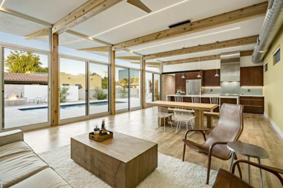 Солнечный дом (Sol House) в США от The Ranch Mine.
