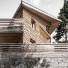 Скрученный дом (Twisted House) в Италии от Bergmeisterwolf.