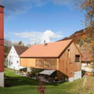 Конверсия мельницы (Conversion Mill Barn) в Швейцарии от Beck + Oser Architekten.