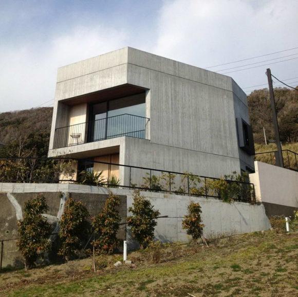 Дом в Акия (House in Akiya) в Японии от Nobuo Araki / the archetype.