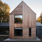 Резиденция в Нортумберленде (Residence in Northumberland) в Англии от Elliott Architects.