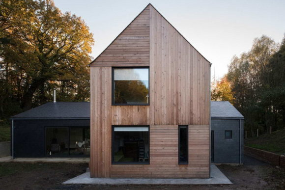 Двойной дом-сарай в Англии