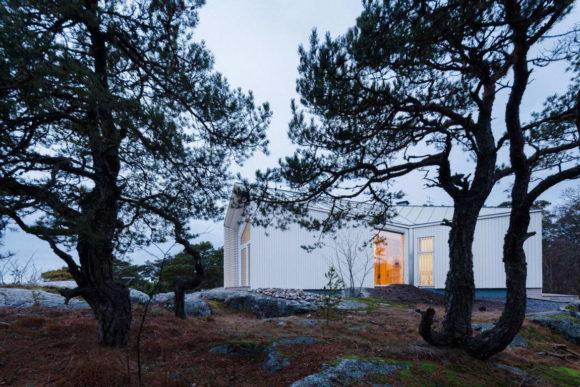 Штормовая вилла (Stormvillan) в Финляндии от Mer Arkkitehdit.