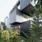 Дом из трёх коробок (3SHOEBOX House) в Словении от Emil Navinsek и OFIS Architects.