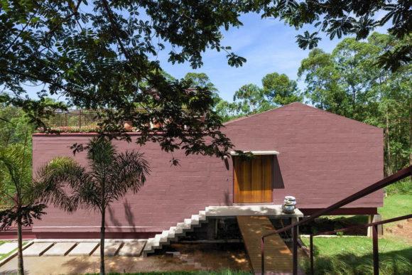 Дом-дерево (Casa da Arvore) в Бразилии от ARKITITO Arquitetura.