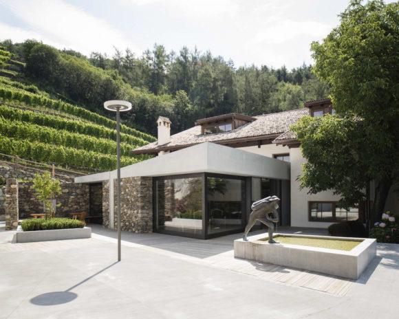 Расширение дома в Италии