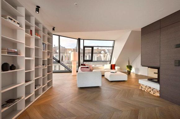 Пентхаус с тремя квартирами в Австрии