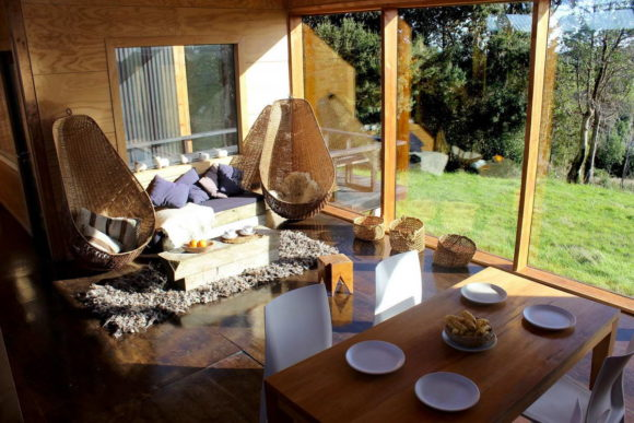 Деревянная дача в Чили