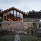 Половина дома (Half House) в Китае от SU Architects.