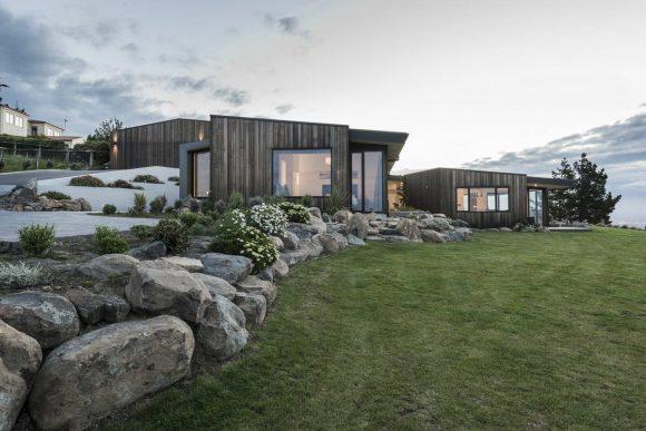 Дом с видом на океан в Новой Зеландии
