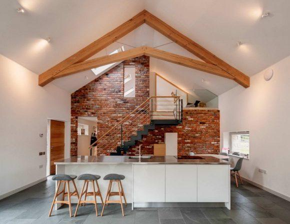 Реконструкция и расширение дома в Англии