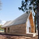 Деловой центр (Wolfson Tree Management Centre) в Англии от Invisible Studio Architects.