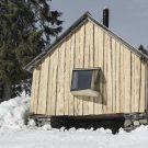 Сарай (A Barn) в Норвегии от OPA Form.