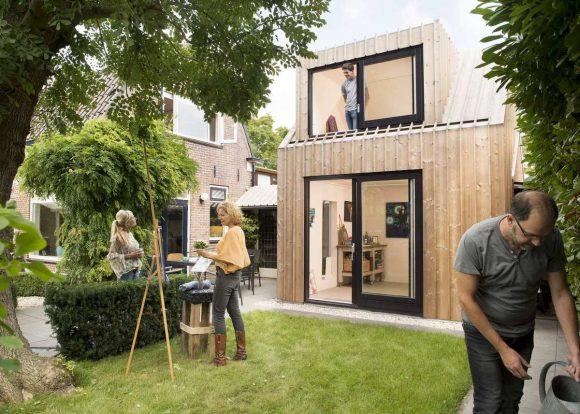 Домик-студия в Голландии
