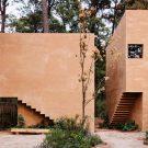Дом Антр-Пинос (Entre Pinos House) в Мексике от Taller Hector Barroso.